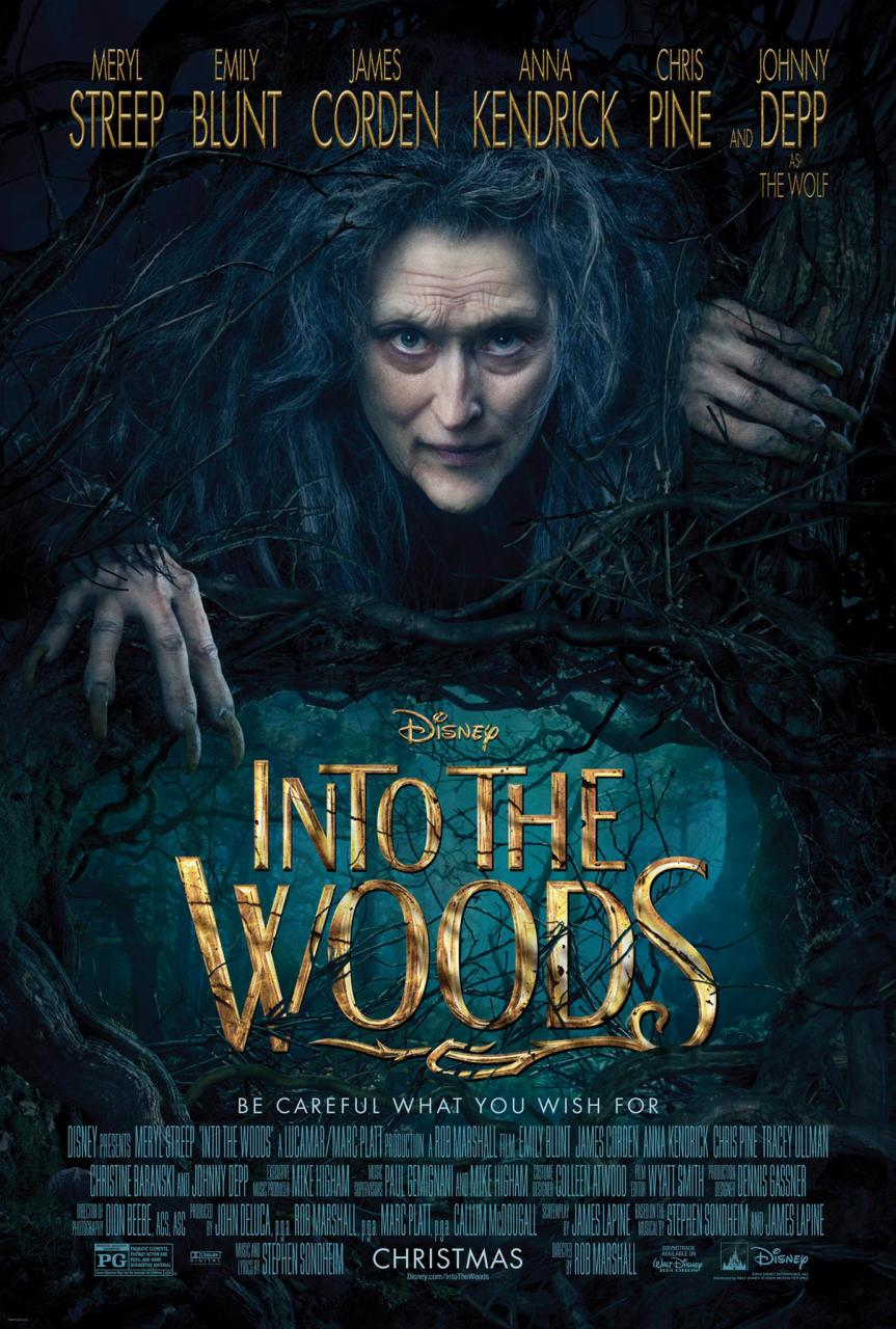 Into the Woods, nuevo poster